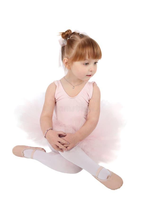 Ballet girl stock photo