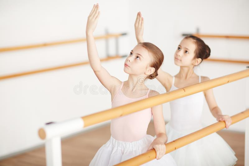 Ballet girls royalty free stock images