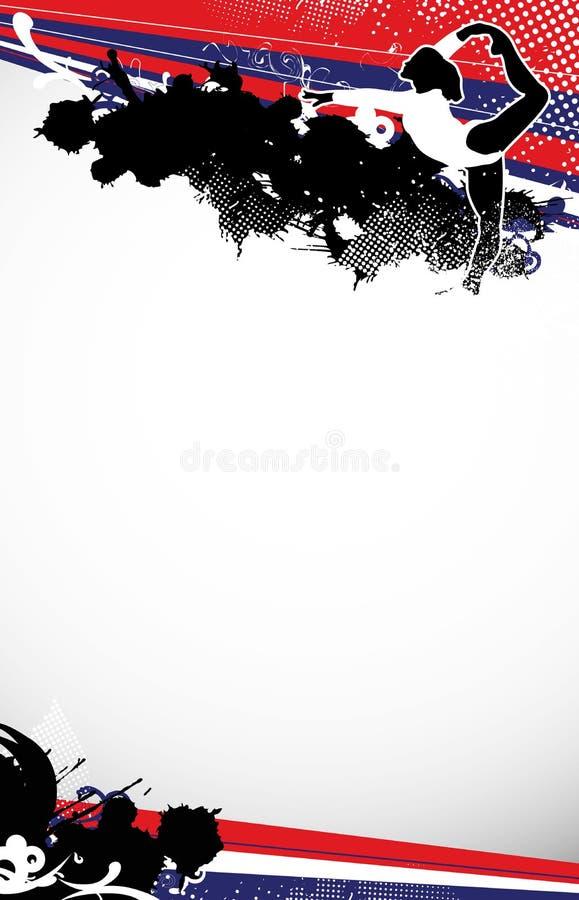 Ballet of Gymnastiek- vector illustratie