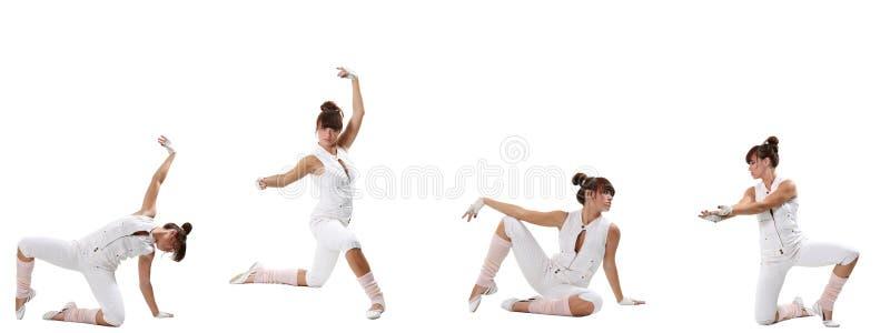 Ballet moderno fotografía de archivo