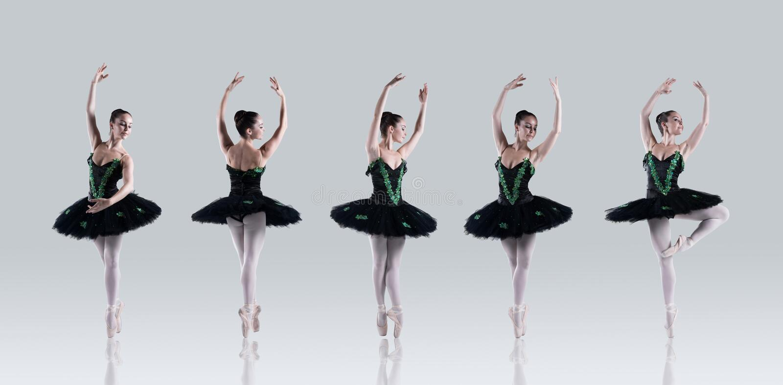 Download Ballet perfection stock image. Image of contemporary - 12971717