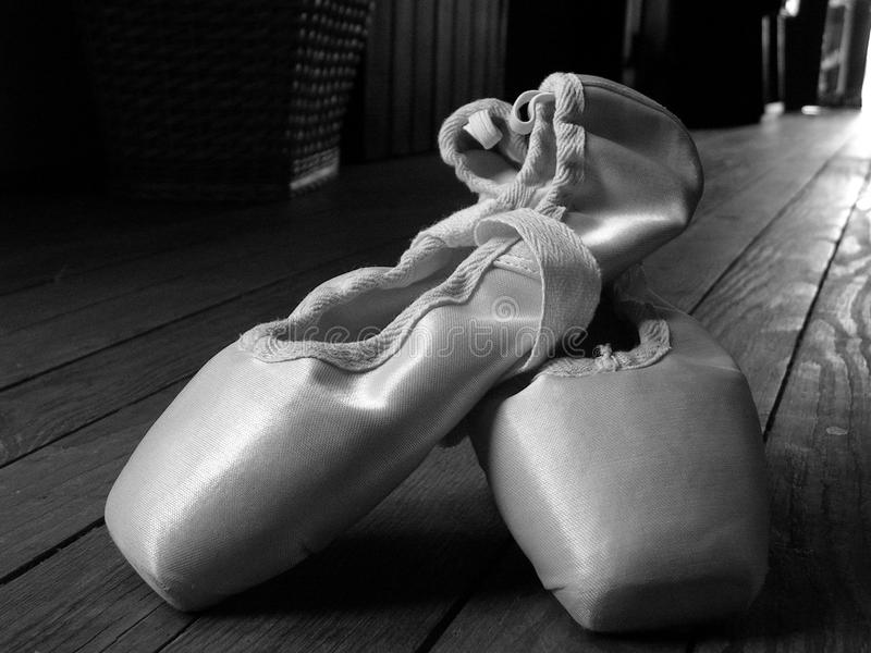 Ballet shoes royalty free stock photo