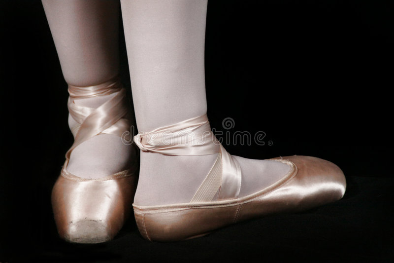 Ballet Slippers stock photography