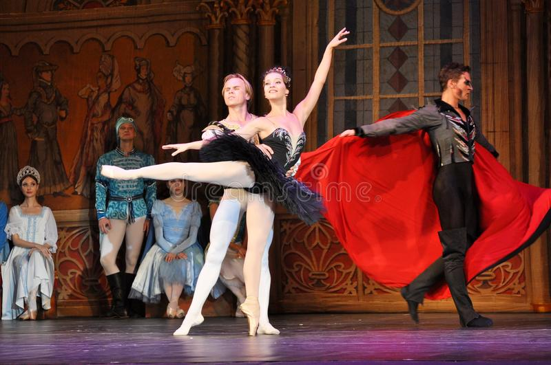 Ballet soloists royalty free stock photography