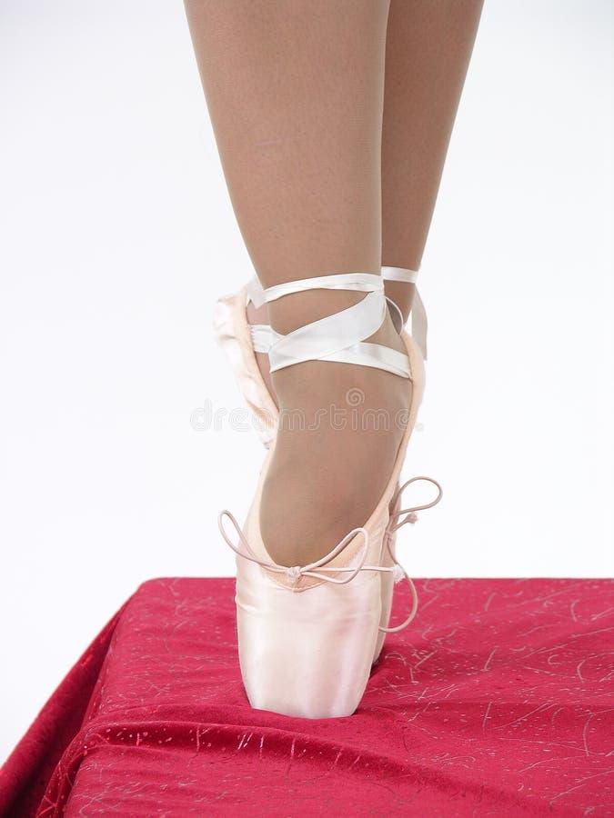 Ballet sur le point photographie stock libre de droits