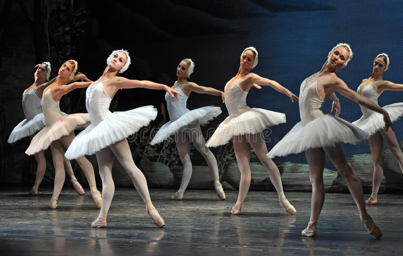Ballet. Swan Lake ballet by Theatre Russian Ballet, St.Petersburg, Russia