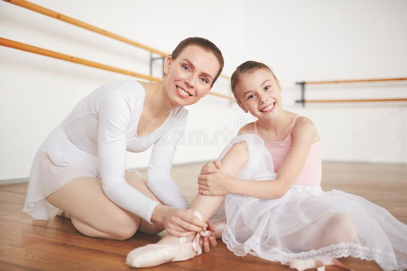 Ballet females royalty free stock photography