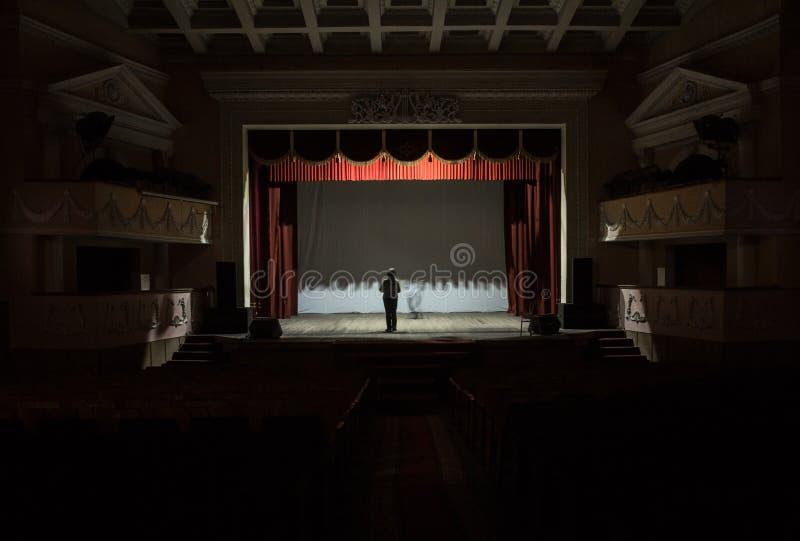 The ballet teacher. stock photography