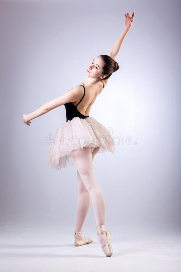 Ballet training stock images