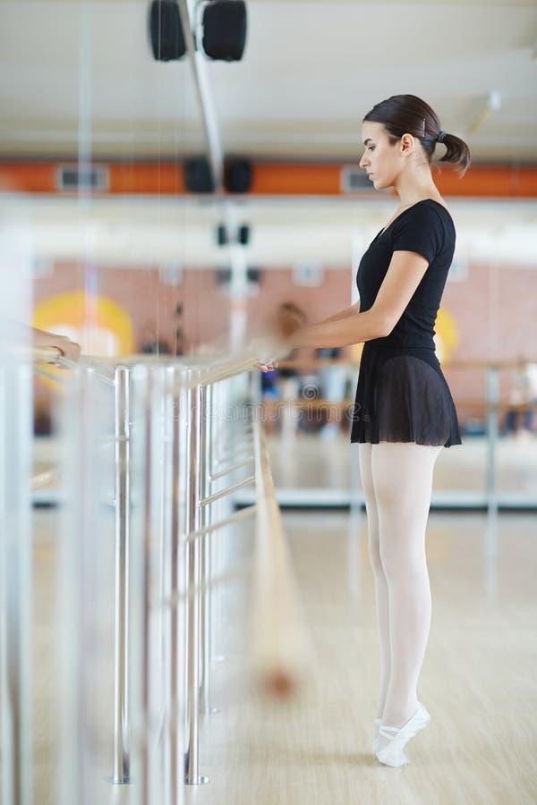 Ballet training stock photo
