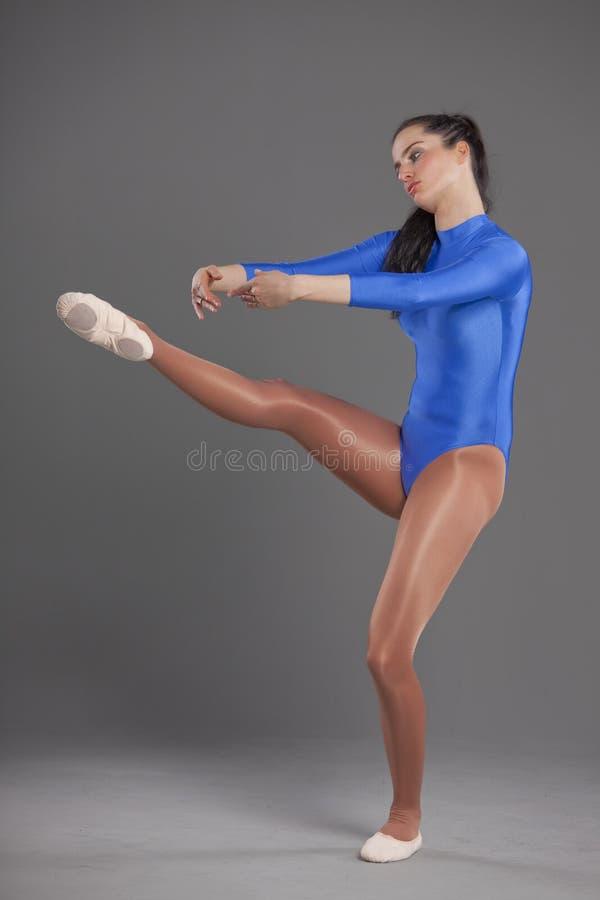 Ballet woman stock image