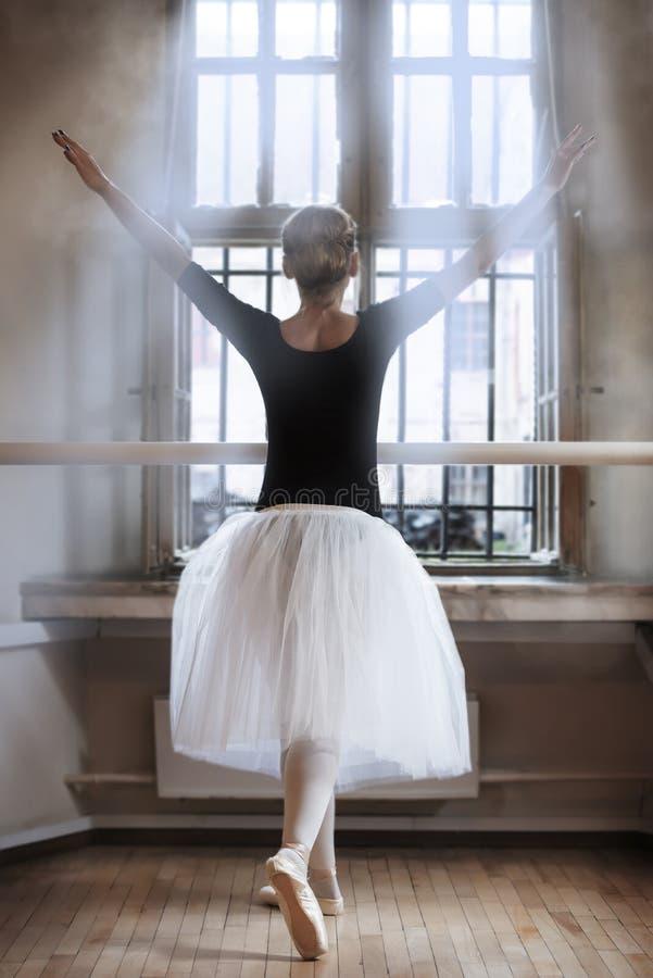 In balletklaslokaal royalty-vrije stock foto