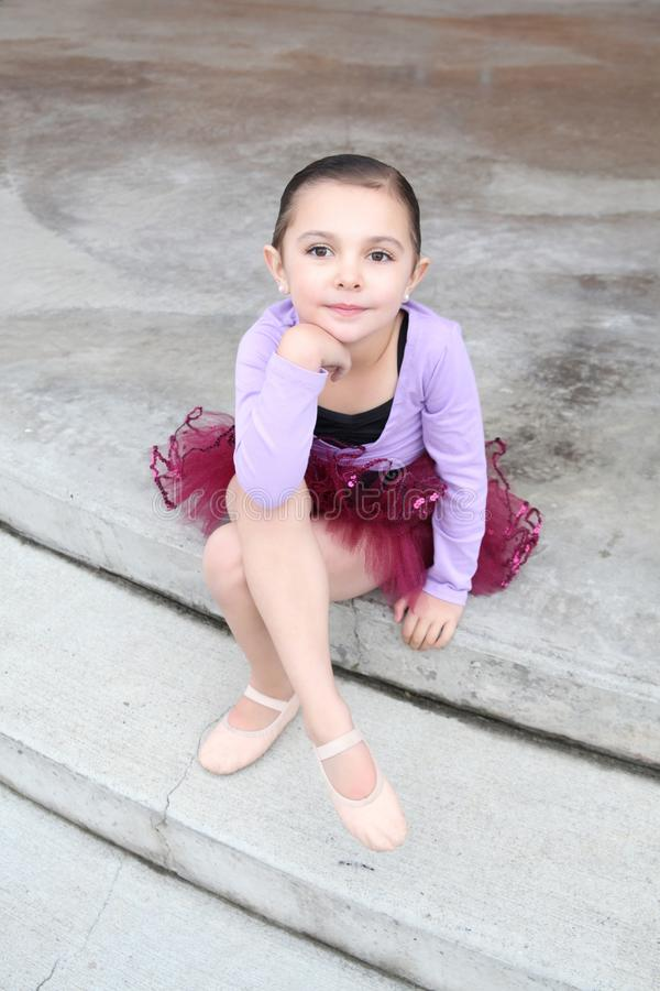 Balletmeisje stock foto