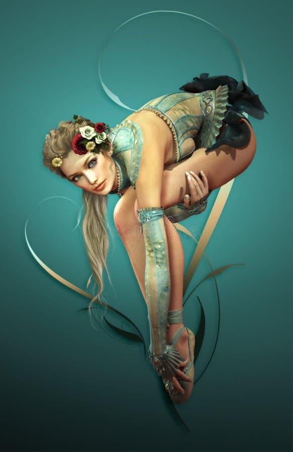 Ballett stock abbildung
