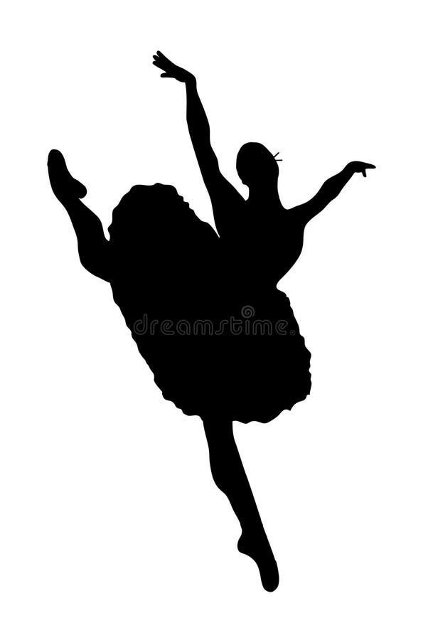 Ballett lizenzfreie abbildung