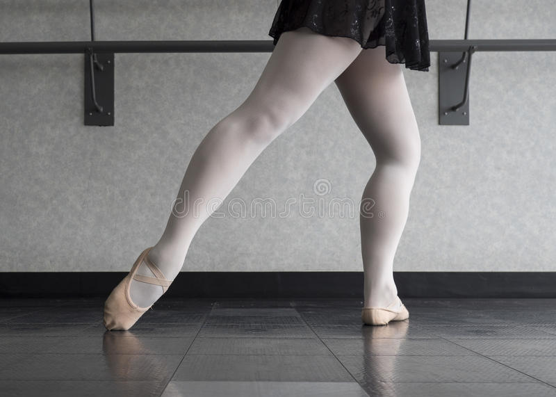 Ballett Barre Work stockbild