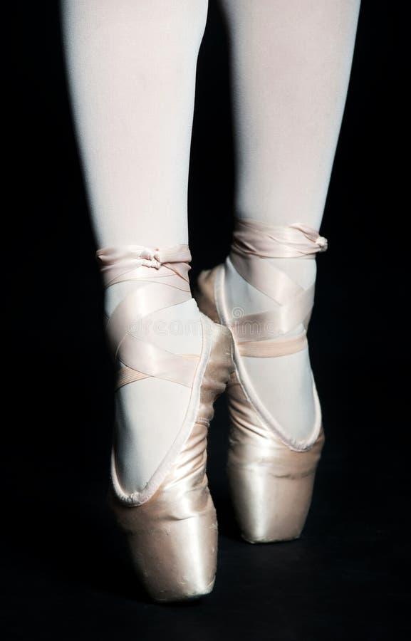Ballett-Hefterzufuhren stockfotos