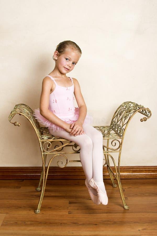 Ballett-Mädchen stockfoto