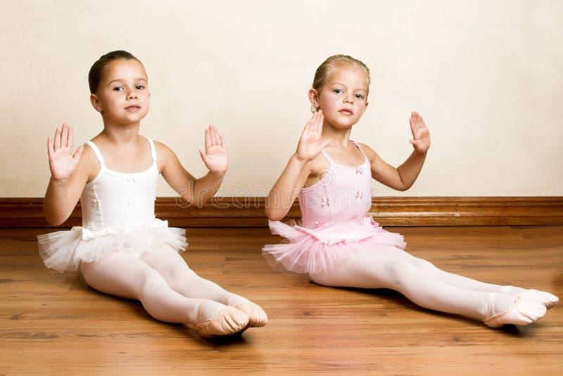 Ballett-Mädchen lizenzfreie stockbilder