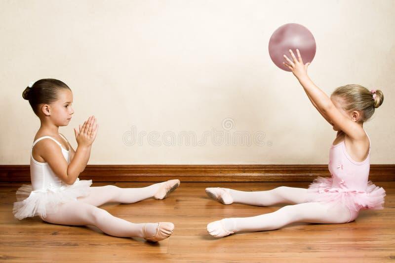 Ballett-Mädchen stockbilder