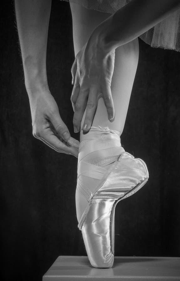 Ballett-Schuh stockbild