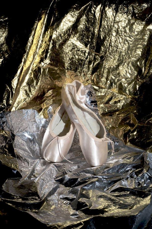 Ballett-Schuh lizenzfreie stockfotografie