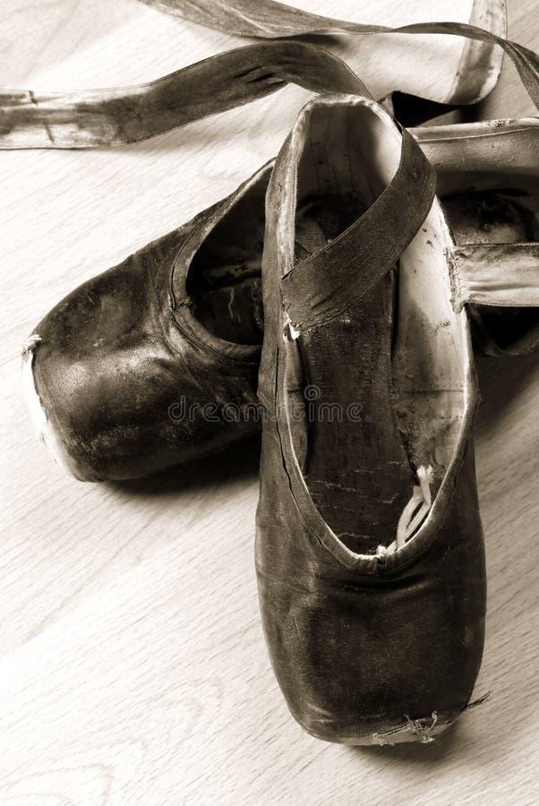 Ballett-Schuhe lizenzfreie stockfotografie