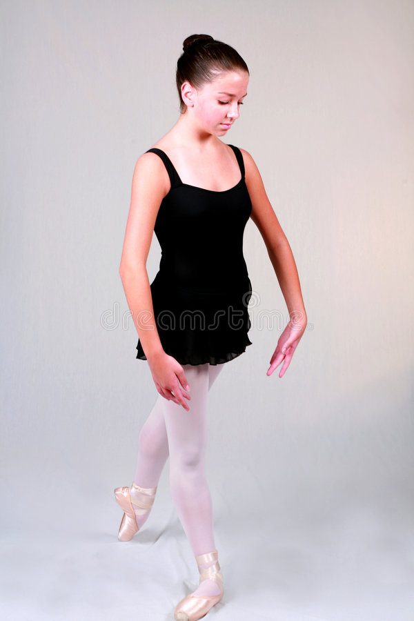Ballett-Stellung lizenzfreies stockbild