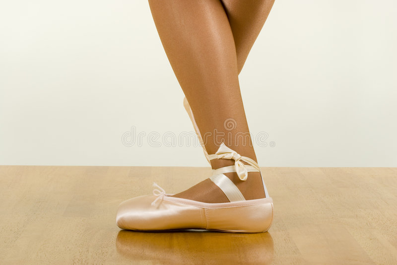 Ballett-Training lizenzfreie stockfotos