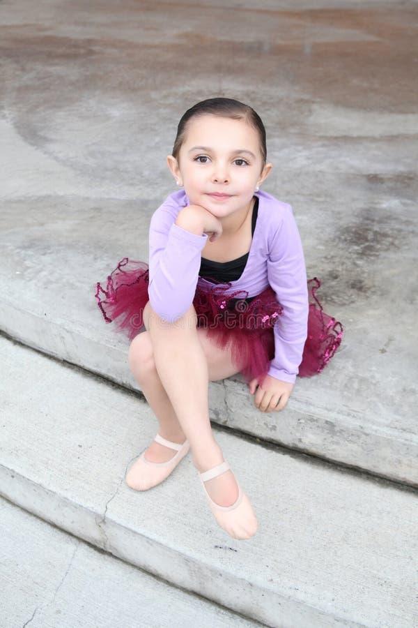 Ballettmädchen stockfoto
