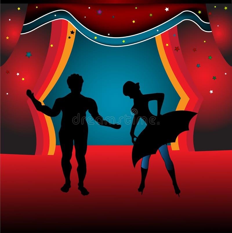 Balletto illustrazione di stock