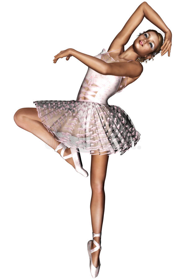 Balletto 2 illustrazione di stock
