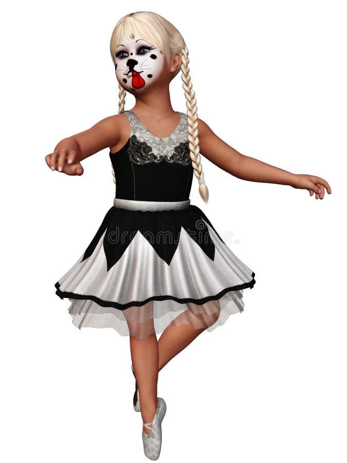 Balletto 3 illustrazione di stock