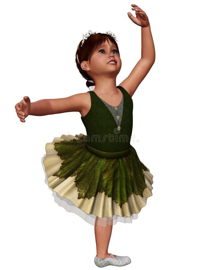 Balletto 8 illustrazione di stock