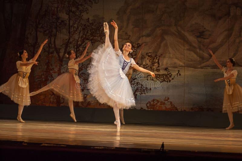 Balletto classico Giselle fotografie stock libere da diritti