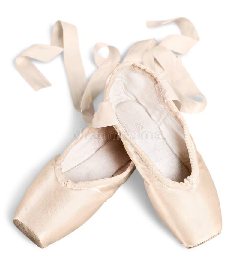 Ballettschuhe lizenzfreie stockbilder