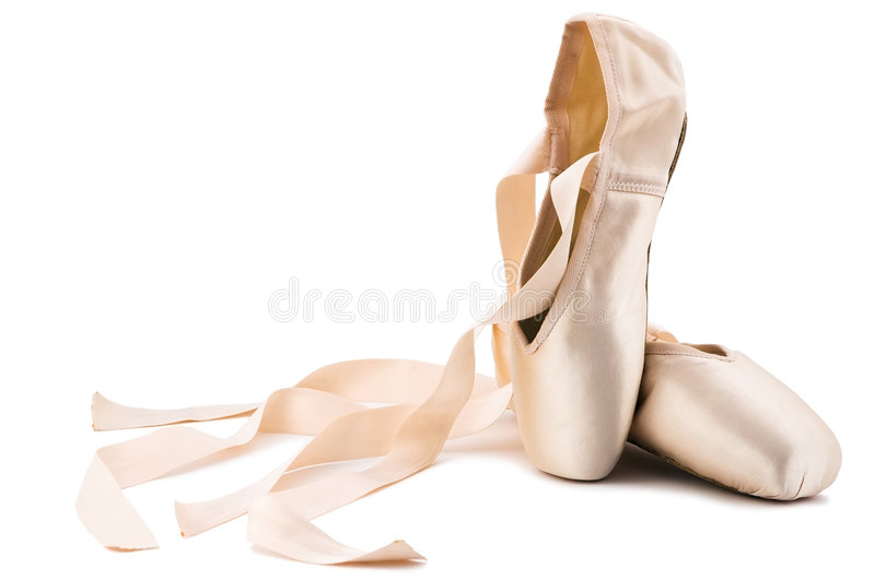 Ballettschuhe lizenzfreies stockbild