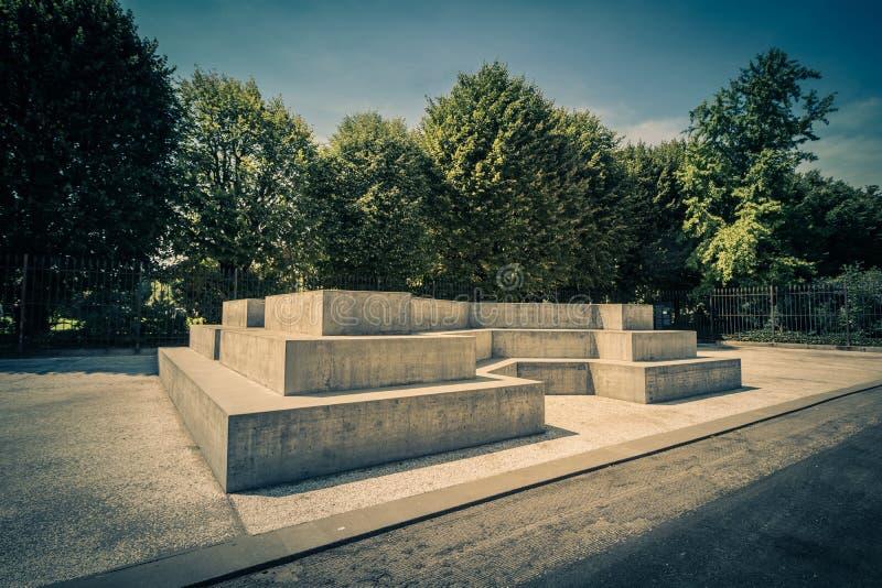 Ballhausplatz - Vienne - l'Autriche photographie stock