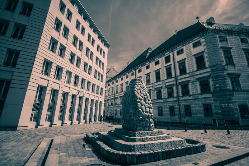 Ballhausplatz - Vienne - l'Autriche photo stock