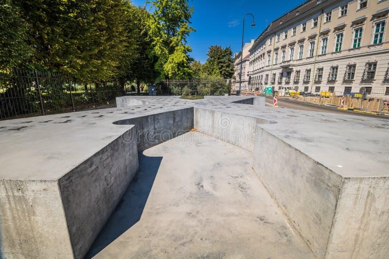 Ballhausplatz - Vienne - l'Autriche images stock