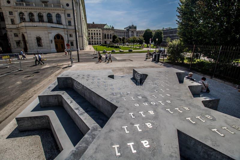 Ballhausplatz - Vienne - l'Autriche image stock