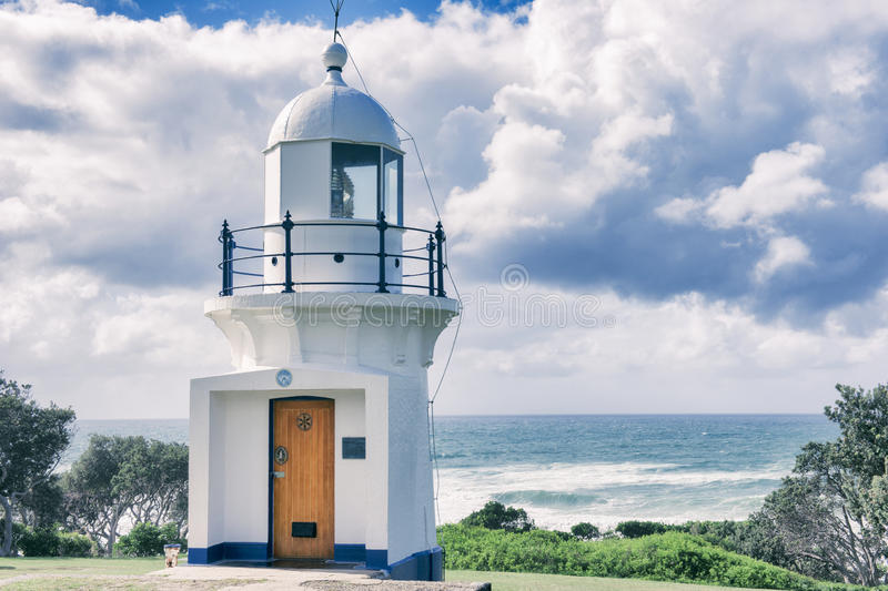 Ballina Lighthouse in New South Wales. Australia during the day stock photo