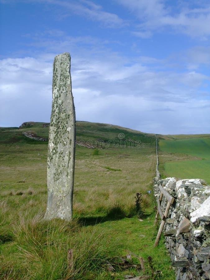 Download Ballinaby Standing Stone, Isle Of Islay, Scotland Stock Image - Image: 8565665