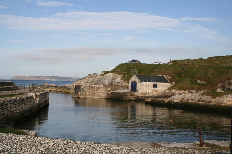Ballintoy Harbour2 images stock