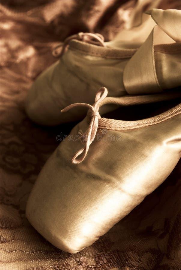 Balllet Schuhe stockfotos