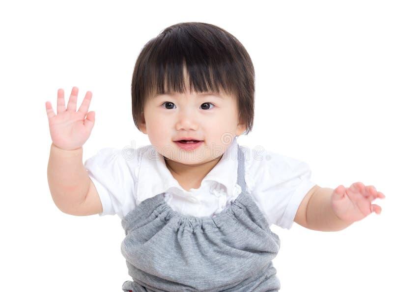 Ballo asiatico della neonata immagini stock libere da diritti
