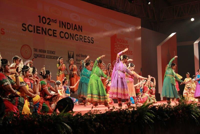 Ballo classico indiano immagine stock