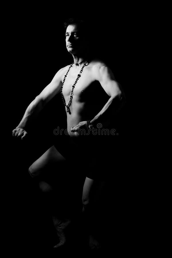 Ballo classico indiano fotografia stock libera da diritti