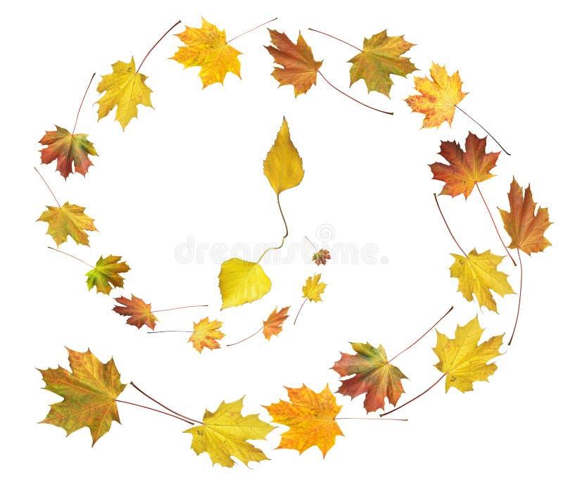 Ballo d'autunno di tempo fotografie stock libere da diritti