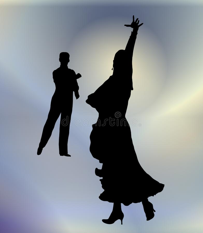 Ballo da sala 2 fotografie stock libere da diritti